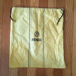 Authentic vintage Fendi dust bag